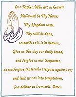 "Stamped White Sampler 11""X14""-Lord's Prayer (並行輸入品)"