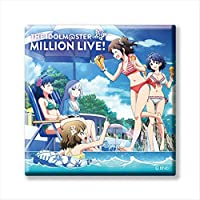 【M@STER SPARKLE 01】 アイドルマスター ミリオンライブ! トレーディングCDジャケット缶バッジ