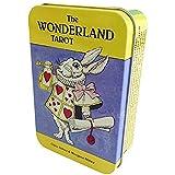 THE WONDERLAND TAROT IN A TIN 【缶ケース入りとなり、待望の再販!アリスのタロットカード★】ワンダーランド・タロット(缶入り)