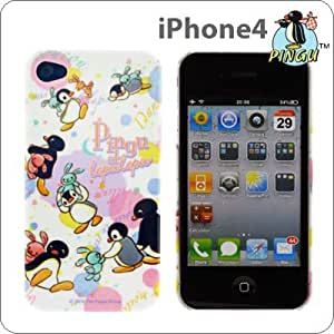iPhone4専用 ピングーキャラクタージャケット(ピングー&ピンガ)PG-01C