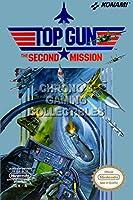 "CGC Hugeポスター–Top Gun The Second Mission Orignal Nintendo NESボックスアート–nes114 24"" x 36"" (61cm x 91.5cm)"