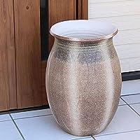 信楽焼 ゆらぎ模様傘立て しがらき焼 笠立て 陶器 おしゃれ kt-0211