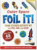 Outer Space Foil It! (foam sticker activity kit) by Peter Pauper Press(2013-09-01)