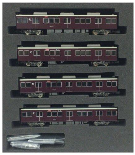 Nゲージ 4060 阪急8000/8300系 1次車増結用中間車4輌 (塗装済完成品)