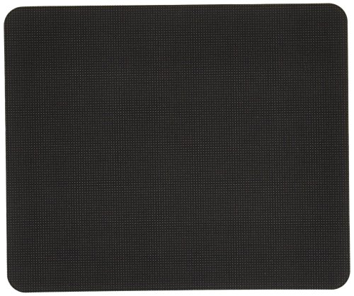 ロアス 薄型マウスパッド ブラック MUP-521BK