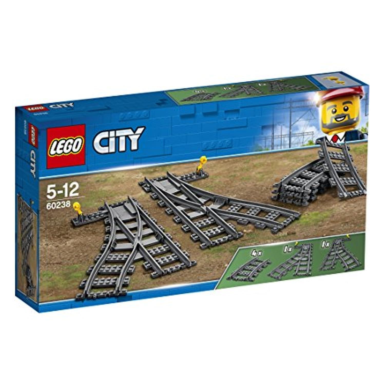 レゴ(LEGO) シティ 交差付きレールセット 60238