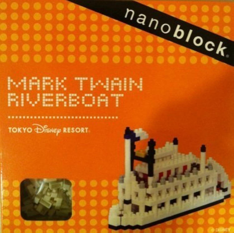 nanoblock ナノブロック 【蒸気船マークトゥエイン号】MARK TWAIN RIVERBOAT [おもちゃ&ホビー]