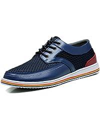 スポーツ、レジャー、遅いランニングシューズ、通気性、水遊びの靴 (25.5, ブルー)