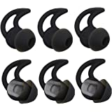 Bose Replacement Noise Isolation Silicone Earbuds/Earplug Tips 3 Pairs for Bose in-Ear Wired Earphones Fit Bose QC20 QuietCon