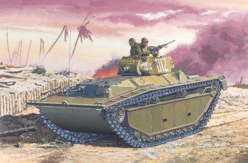 1/72 W.W.II アメリカ軍 水陸両用装軌車 LVT-(A)4