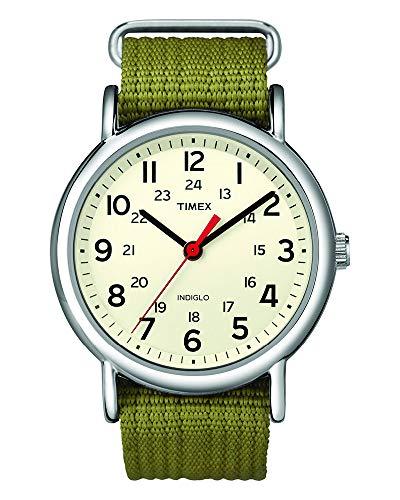 [タイメックス]TIMEX ウィークエンダー セントラルパーク クリーム×オリーブ T2N651 【正規輸入品】