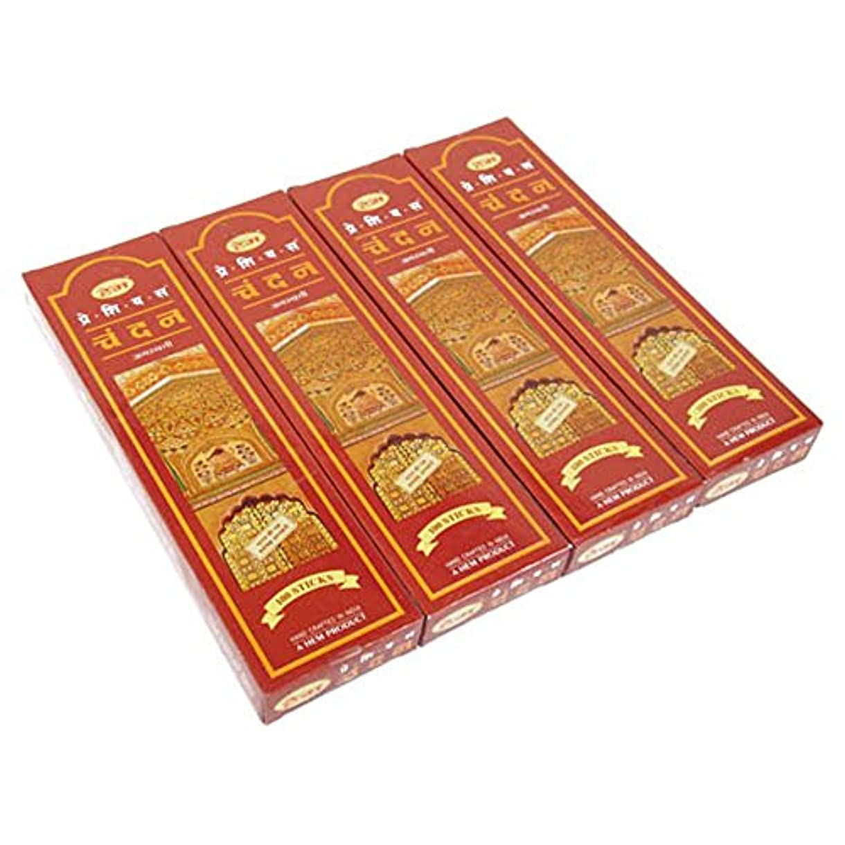 知人マダムそれぞれHEM チャンダン スティック エコノミーパック 100P 4箱セット