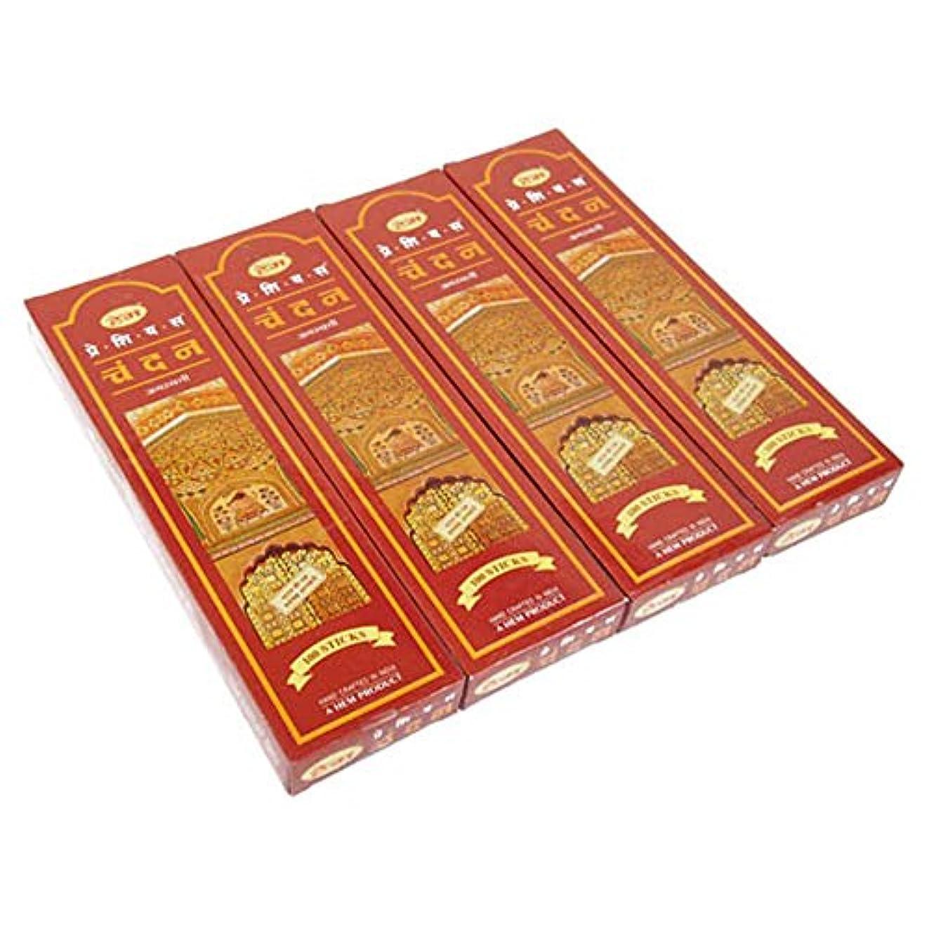 カフェテリア散らす影響するHEM チャンダン スティック エコノミーパック 100P 4箱セット