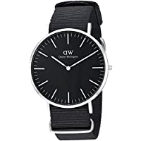 Daniel Wellington Men's  Watch Classic Black Cornwall  40mm