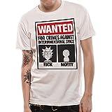 Rick And Morty Mens Wanted T-Shirt