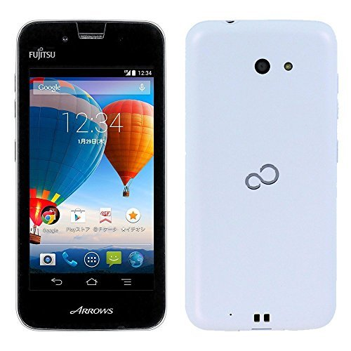 Fujitsu 富士通 SIMフリースマートフォン ARROWS M01 ホワイト