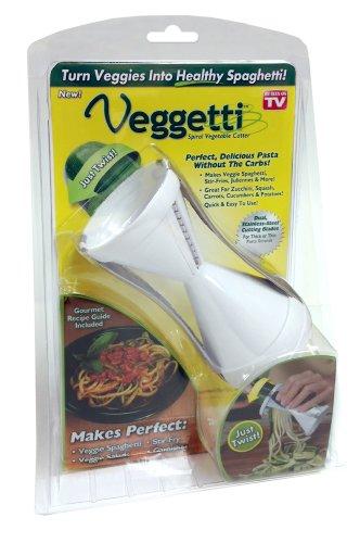 Veggetti らせん状 野菜スライサー 野菜パスタを作ります
