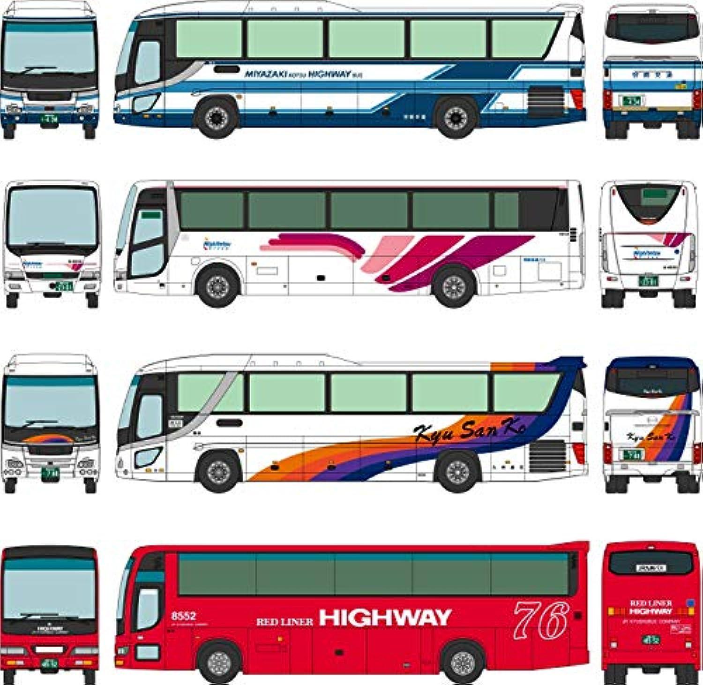 ザ?バスコレクション バスコレ フェニックス号 30周年記念 4台セット ジオラマ用品 (メーカー初回受注限定生産)