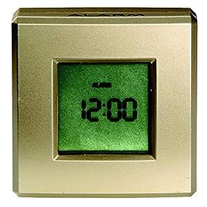 回転すると機能切り替え 4way ロータリー クロック 置き時計 3115
