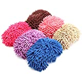 BESPORTBLE Microfiber Slippers Soft Washable Reusable Multifunctional Microfiber Foot Socks Slippers Shoes for Bathroom Offic