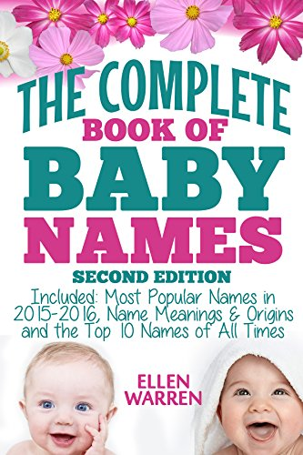 BABY NAMES THE COMPLETE BOOK OF BEST