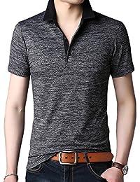 メンズ ポロシャツ ボタンダウン 半袖 ファッション スポーツ ゴルフ かっこいい カジュアル シンプル 部屋着 快適 吸汗速乾 夏