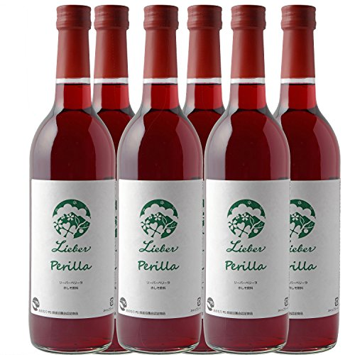 Lieber Perilla(リーバーペリーラ)赤しそ飲料 美容成分プロテオグリカン配合 6本(720mL × 6本)
