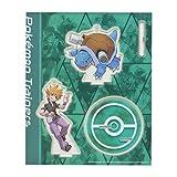 ポケモンセンターオリジナル アクリルスタンドキーホルダー Pokémon Trainers グリーン&カメックス