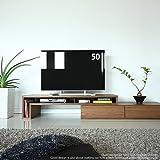 ウォールナット GS155TV-SP テレビ台 テレビボード コーナー 国産 60インチテレビ対応 伸縮自在 伸張式 セパレートタイプ テレビボード テレビ台 リビングボード モダン デザイナーズ 北欧 40・42インチ~46・52インチ推奨