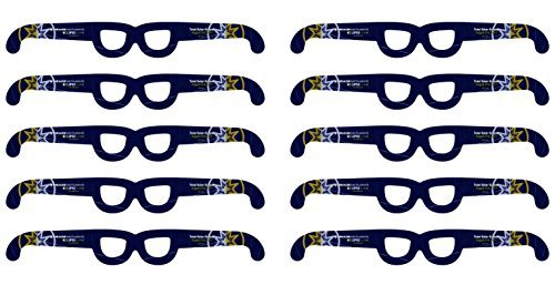 Meade Instruments EclipseView Solar Glasses - 10 Pack (727005) [並行輸入品]