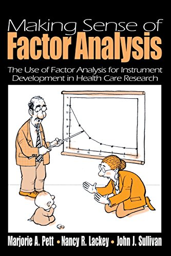 Download Making Sense of Factor Analysis: The Use of Factor Analysis for Instrument Development in Health Care Research (NULL) 0761919503