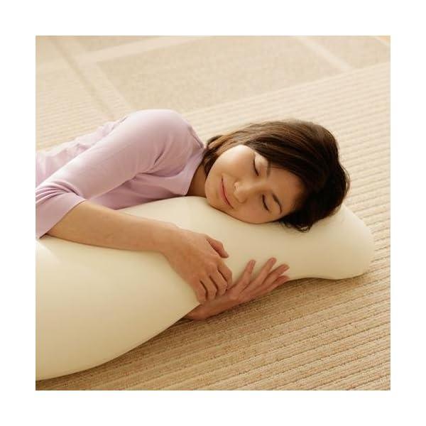 王様の抱き枕 ライトグリーン (専用カバー付)...の紹介画像3