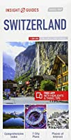 Insight Guides Travel Map Switzerland (Insight Travel Maps)