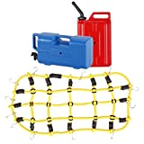 Fenteer 弾性 荷物ネット オイルタンク 水筒 ウォータージャンク  1:10 RC ロッククローラー アキシャルSCX10用