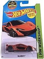 Hot Wheels 2015 HW Workshop McLaren P1 223/250%カンマ% Orange [並行輸入品]