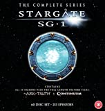 Stargate SG-1 - Complete Season 1-10 plus The Ark of Truth/ Continuum (New Packaging) [DVD] [Import anglais]