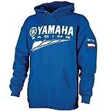 Special Edition Yamaha Racingフード付きスウェットシャツブルーcrp-14frc-bl-lg
