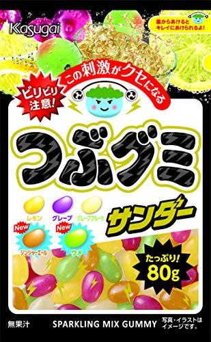 春日井製菓『つぶグミ サンダー』