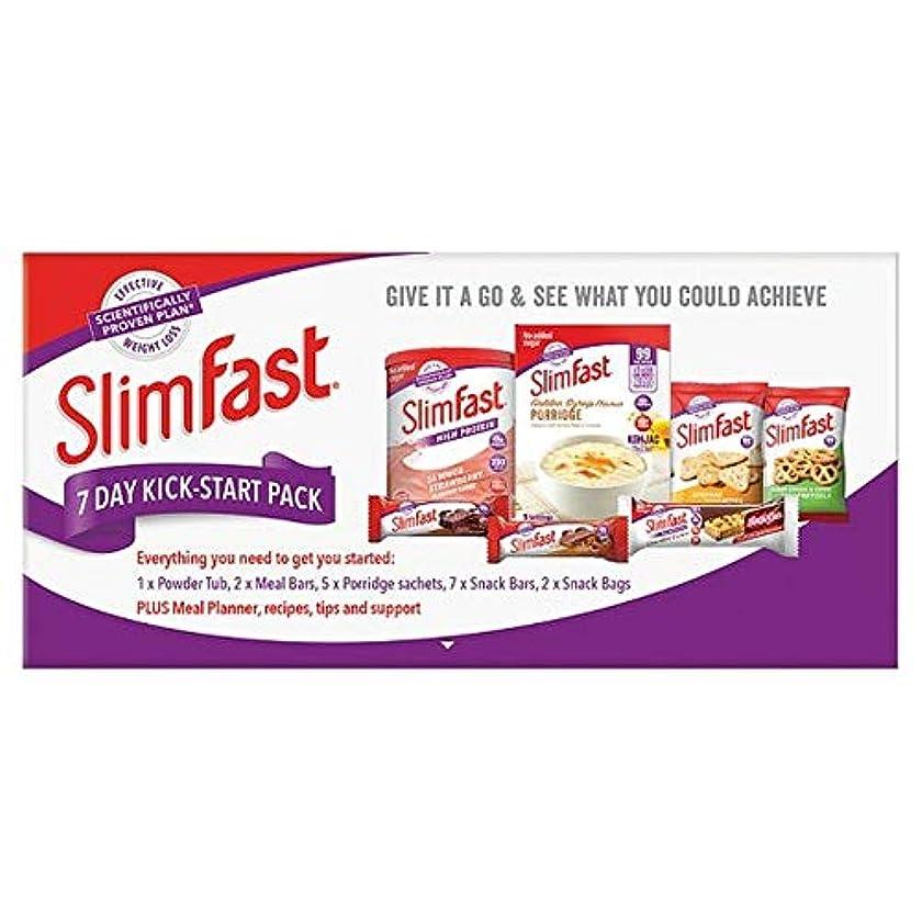 日辛いつなぐ[Slim-Fast] Slimfast 7日間のキックスタートパックスターターパック - Slimfast 7 Day Kick Start Pack Starter Pack [並行輸入品]