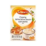 クリーミーな白ワインとハーブ26グラムの上に注ぎます (Schwartz) (x 4) - Schwartz Pour Over Creamy White Wine and Herbs 26g (Pack of 4)