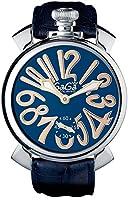 GAGA MILANO 5010.05S MANUALE 48MM ガガミラノ 腕時計 レザーベルト [並行輸入品]