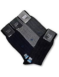 グンゼ 【POLO/ポロ】 ビジネスソックス 8足セット 表糸綿100% 消臭加工 PBJ005