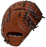 アシックス ベースボール 限定 ゴールドステージ 硬式 ネオリバイブ ファーストミット BGH7AF (31)ブリックブラウン 右投用(LH)