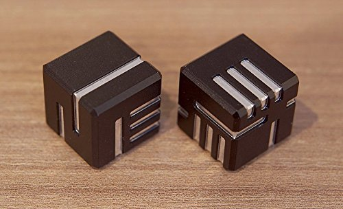 AKO Dice - 'Another Kind Of Dice' Custom Metal Dice (Black Anodised ) by Ako [並行輸入品]