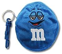 M&M's 【エムアンドエムズ】 コインケース キーチェーン ブルー 並行輸入 アメリカン雑貨 (BLUE)