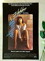 1.小ポスター、アメリカ版「フラッシュ・ダンス」ジェニファー・ビールス