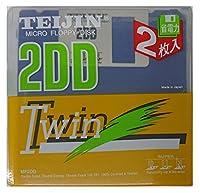 TEIJIN MF2DD 2SP 2枚 3.5インチ アンフォーマット