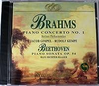 Brahms/Beethoven;Piano Con1