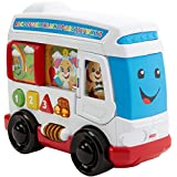 Fisher-Price Laugh & Learn Learn Around Town Bus Learning Toy Bus