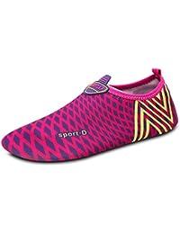 JIANXI マリンシューズ ウォーターシューズ メンズ スノーケリングシューズ ヨガシューズ ビーチサンダル スノーケリングシューズ レディース 軽量 女性 男性 靴